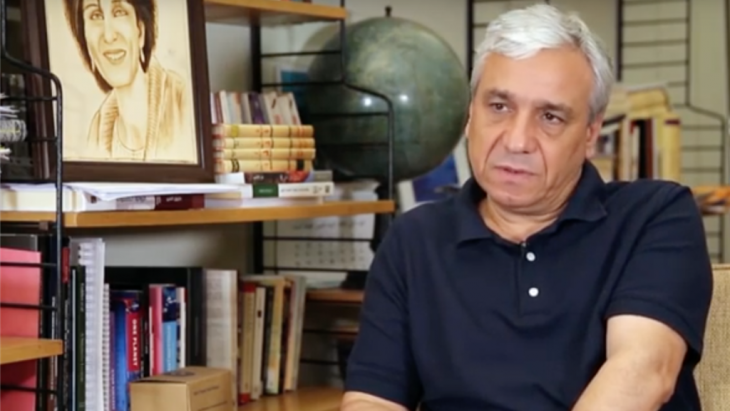 """Syrian writer and political dissident Yassin al-Haj Saleh was imprisoned in Syria from 1980 to 1996 for membership of the left-wing Syrian communist party, which he calls a """"communist pro-democracy"""" group. Having fled the country in 2015, Saleh is now a fellow at Berlin Institute for Advanced Study (Wissenschaftskolleg zu Berlin)."""