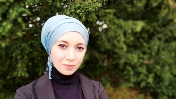 Muslim marriage guidance and family counsellor Ayse Gerner
