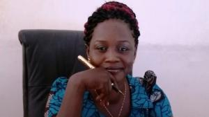 South Sudanese author Stella Gitano (photo: private; source: Facebook)