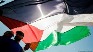 Symbolic Palestinian image: reconciliation between Hamas and Fatah (photo: AFP/Getty Images)