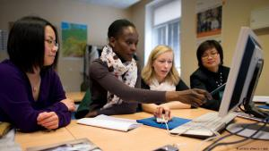 Symbolic image regarding the recognition of foreign university qualifications in Germany (photo: dpa/picture-alliance)