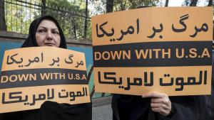 Demonstration in Tehran against the USA following Americaʹs withdrawal from the nuclear agreement (photo: Reuters)