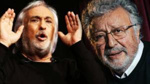 Turkish acting legends Mujdat Gezen, 76 and Metin Akpinar, 78 (source: www.gazeteduvar.com.tr)