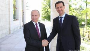 Russian President Vladimir Putin and Syrian President Bashar al-Assad (photo: picture-alliance/dpa/Sputnik)