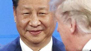 Chinese president Xi Jinping and U.S. president Donald Trump at G20 summit in Argentina, December 2018 (photo: picture-alliance/dpa/Maxppp)
