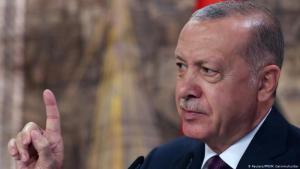 Turkish president Recep Tayyip Erdogan (photo: Reuters/PPO/M. Cetinmuhurda)