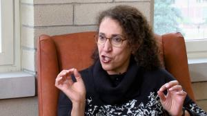 Saudi social anthropologist Madawi al-Rasheed (photo: screenshot/YouTube)