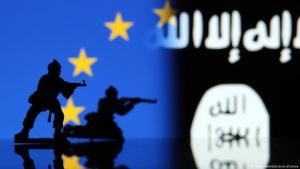 Symbolic image of terror attacks on Europe (source: DW)
