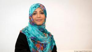 Yemeni Novel Peace Prize laureate Tawwakol Karman (photo: Imago Images/CTK Photo/K. Suleva)