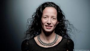 Moroccan novelist Meryem Alaoui (photo: JOEL SAGET/AFP/Getty Images)