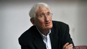 German philosopher Juergen Habermas (photo: Getty Images/AFP/L. Gouliamaki)