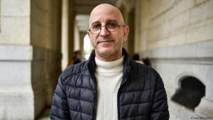 "Algerian Islamic scholar Said Djabelkhir was sentenced to three years in prison for ""insulting Islam"" (photo: Ryad Kramdi/AFP)"