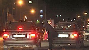 Sex worker on the street in Tehran, Iran (photo: Mehr)
